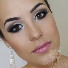 Bruna Malheiros Makeup » Maquiagem Fácil: Noiva Clássica