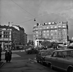 Map Pictures, Old Buildings, Helsinki, Finland, Past, Street View, Black And White, History, Blessed