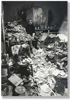 Francis Bacon's Studio.