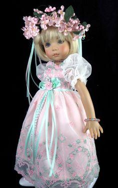 Lace Dress fts Effner 13, Little Darling; Betsy McCall. LittleCharmersDollDesign