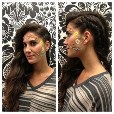 """Once Vintage's theme for Mass Appeal this year was """"Going to California."""" Hair by Amy. #pushGO #ma2013 #fawnandfoxsalon"""