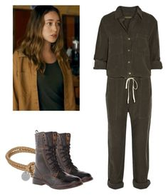 Alicia Clark - ftwd / fear the walking dead by shadyannon on Polyvore featuring polyvore fashion style Enza Costa Bed|Stü Bottega Veneta clothing