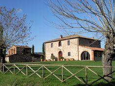 "Villa Felciai at La Selva Vacation Villas.  This villa is a historical documented and protected ""Leopoldino"" dating back to 1700's.  Image by Sherry Mason"
