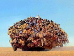 Hoeveel personen mag je eigenlijk vervoeren met een #rijbewijs B? ☺ haha