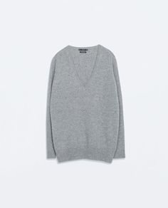 CASHMERE SWEATER from Zara grey