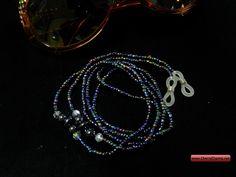 "Beaded Eyeglass Holders 30"" long | Jude Eyeglass Holder - $4.99 Eyeglass Holder, Eyeglasses, Jewelry, Eyewear, Jewlery, Jewerly, Schmuck, Jewels, Jewelery"