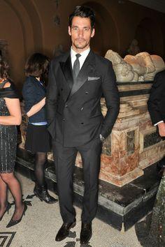 David Gandy wearing Dolce & Gabbana.