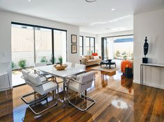 Informal dining area perfectly styled to compliment the lounge room