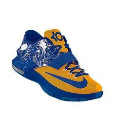 blue kd sneakers