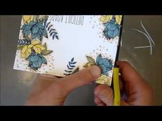 Unity Stamp Co Quick Tip Popped Up Die Cut Panel - YouTube. Great idea! I have this stamp set now too - it's lovely