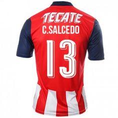 16-17 Chivas Guadalajara CD Cheap Home #13 Salcedo Replica Shirt [G00452]