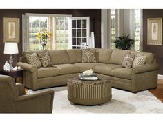 Craftmaster Living Room Sectional F9123 Sect   Tyndall Furniture Galleries,  INC   Charlotte,