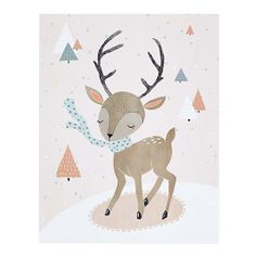 winter deer wall art...