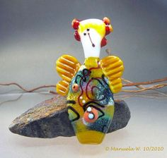 Mira Art Glass Angel - Manuela Wutschke