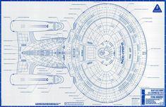 Enterprise D blueprints