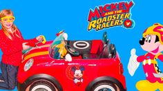 MICKEY AND THE ROADSTER RACERS Disney Mickey Mouse Tool Kit + Assistant Toys Video