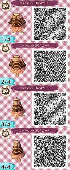 Animal Crossing New Leaf Lovely dress QR code
