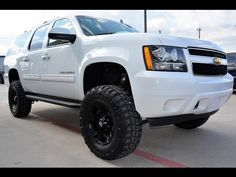 2011 Chevrolet Suburban LS 1500 4WD Lifted SUV http://www.onlyliftedtrucks.com