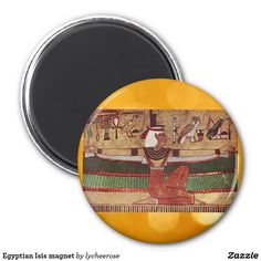Egyptian Isis magnet