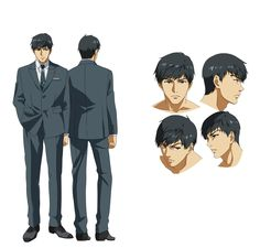 Official page got update with character designs,. Amon Koutarou, Amon Tokyo Ghoul, Character Design References, Kaneki, Dark Fantasy, Concept Art, Anime Art, Horror, Images