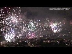 Madeira Funchal New Year Fireworks 2009 - 2010. I was there that year