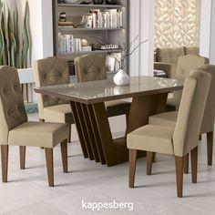 Dinning Room Table Decor, Dinning Table Design, 6 Seater Dining Table, Marble Top Dining Table, Luxury Dining Tables, Luxury Dining Room, Dining Table In Kitchen, House Furniture Design, Living Room Sofa Design