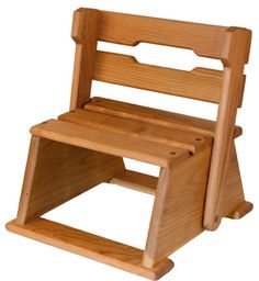 Camden Rose - Convertible Step Stool Chair