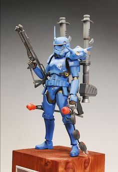 GUNDAM GUY: Star Wars x Gundam: Kampfer Stormtrooper - Customized Build