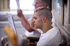 Pompadour, Bald Men Style, Low Maintenance Haircut, Buzzed Hair, Sexy Men, Sexy Guys, First Haircut, Shaved Head, Short Hair Cuts
