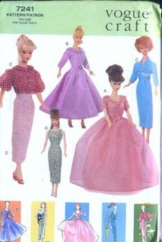 "Vogue 7241 - 11 1/2"" Fashion Doll Clothes - Vintage Vogue (Vogue 7241/706) by Vogue Craft,http://www.amazon.com/dp/B001AKWB38/ref=cm_sw_r_pi_dp_Bwwksb0KQ5V7HW8D"