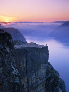 Preikestolen, Lysefjorden, Norway
