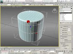 Tutorial Hard Surface Modelling - Round and Cylindral Joints in 3ds Max Design, Game Design, 3ds Max Tutorials, Hard Surface Modeling, Modeling Tips, 3d Tutorial, 3d Max, Art Education, Interior And Exterior