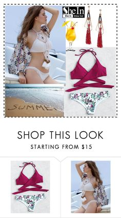 """""""shein"""" by lili-876 ❤ liked on Polyvore"""
