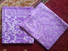 Ungu Muda Kain Batik