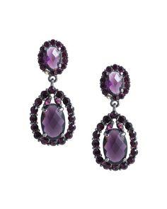 Purple Reign Earrings - JewelMint