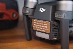 Hochwertige Drohnenkennzeichen passend für DJI Mavic Pro