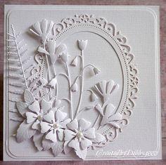 wedding scrapbook, white card, die cut, stamp, wedding cards