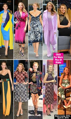 Blake Lively Stuns In A Record-Breaking 10 Looks In 1 DayNYC