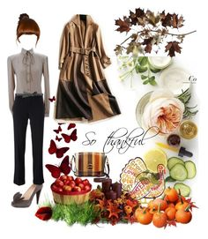 """Happy Thanksgiving"" by maryann-bunt-deile on Polyvore featuring Martha Stewart, Valentino, Prada, Golden Goose, Tory Burch, BCBGMAXAZRIA and C. Jeré"