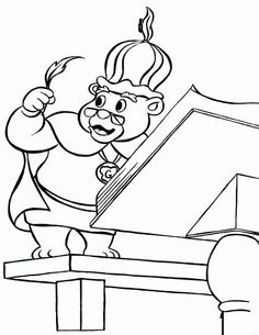 gummi bears coloring pages 5