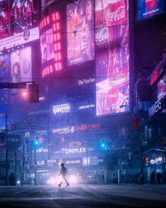 aestethic vaporwave The future is now. Cyberpunk City, Cyberpunk Kunst, Cyberpunk Aesthetic, Futuristic City, Purple Aesthetic, Retro Aesthetic, Aesthetic Photo, Pink Lila, Neon Noir
