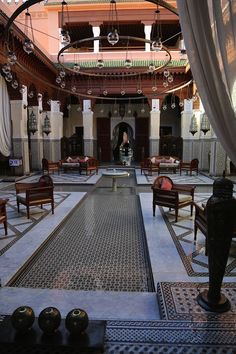 "Royal Mansour"" located in the heart of the Medina"