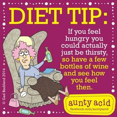 Diet Tips from Aunty Acid