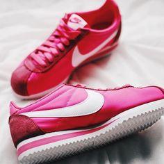 Sneakers femme - Nike Cortez (©laviiieenrouge)
