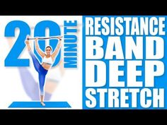 (20) 20 Minute Resistance Band Deep Stretch | Sydney Cummings - YouTube