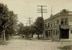 Main Street Fenton MO - Date unknown - Missouri Vintage St Louis Photograph photo pic picture Saint Louis
