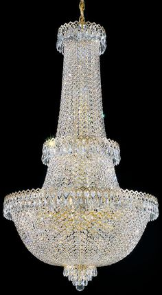 Dazzle your decor with the exquisite illumination of this large crystal chandelier from Schonbek. Style # 66407 at Lamps Plus. Hallway Chandelier, Chandelier Lighting Fixtures, Luxury Chandelier, Luxury Lighting, Chandelier Lamp, Elegant Chandeliers, Large Chandeliers, Modern Home Interior Design, Dream Home Design