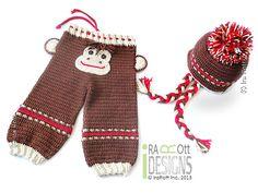 Monkey hat and pants crochet pattern by IraRott