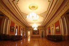 Mariyinskyj Palace, official ceremonial palace of Ukrainian President.