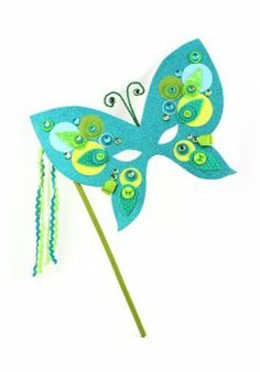Crafters Cafe Seabreeze Butterfly Mask